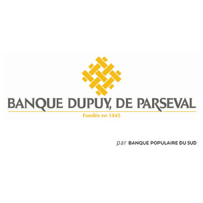 logo Banque Dupuy, de Parseval